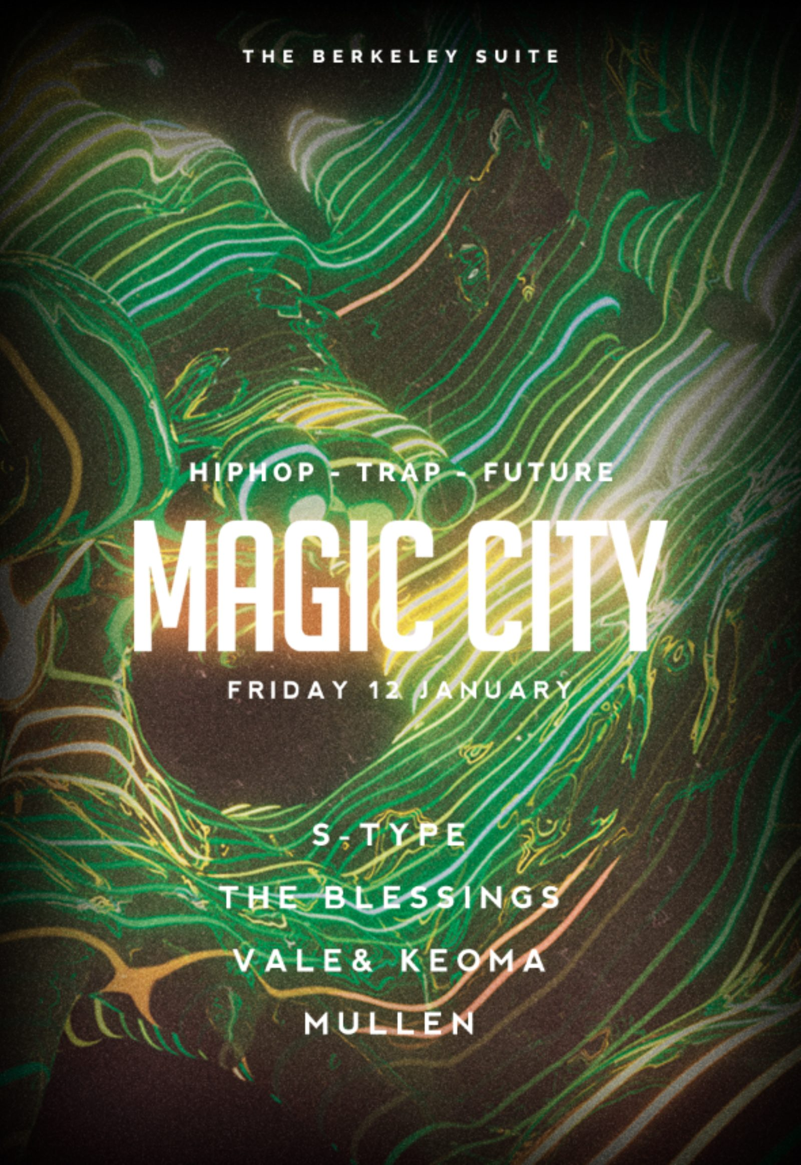 Magic City - S-Type / The Blessings & more
