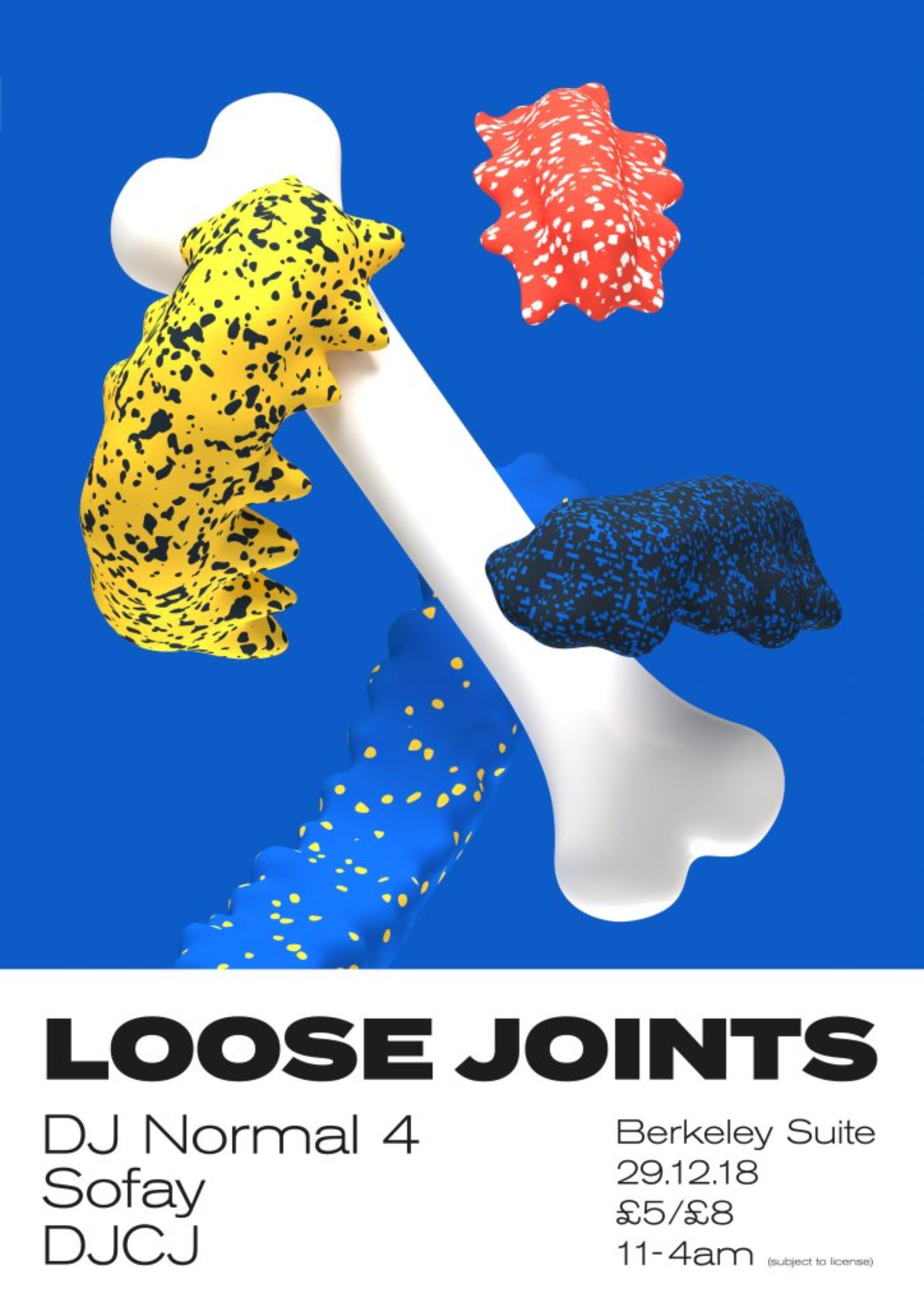 Loose Joints - DJ Normal 4, Sofay, DJCJ