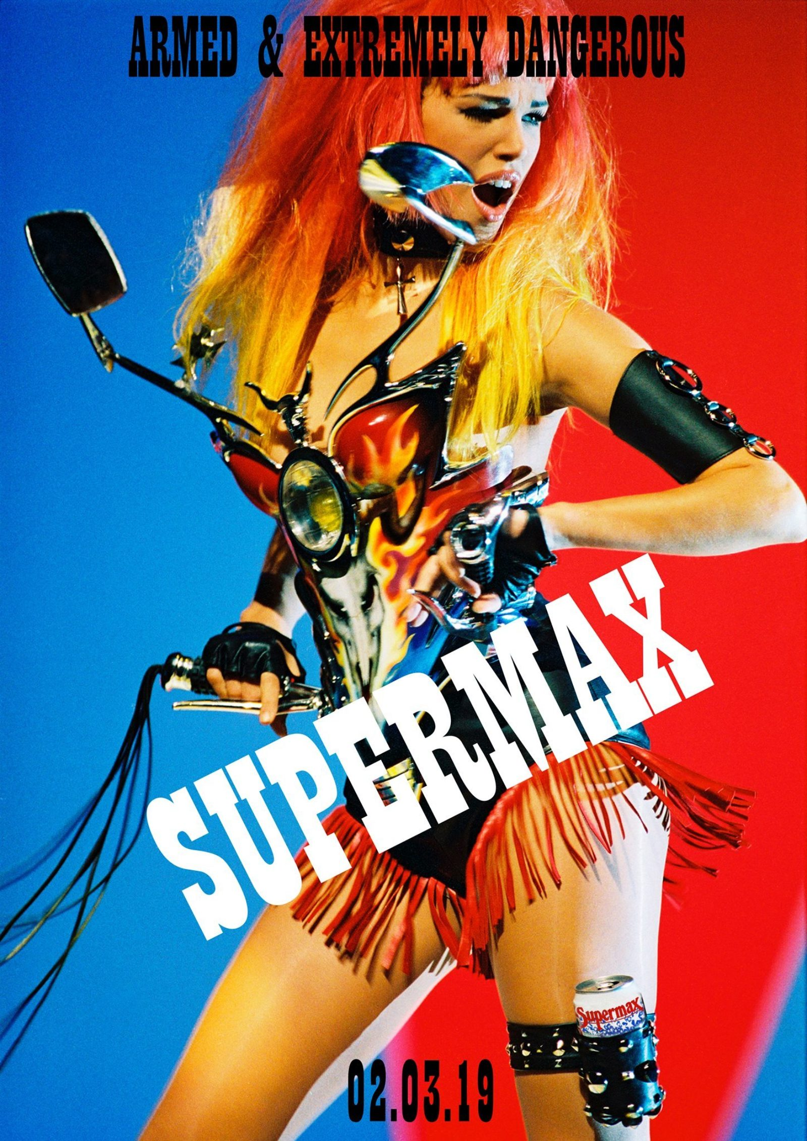 SUPERMAX with DJ BILLY WOODS