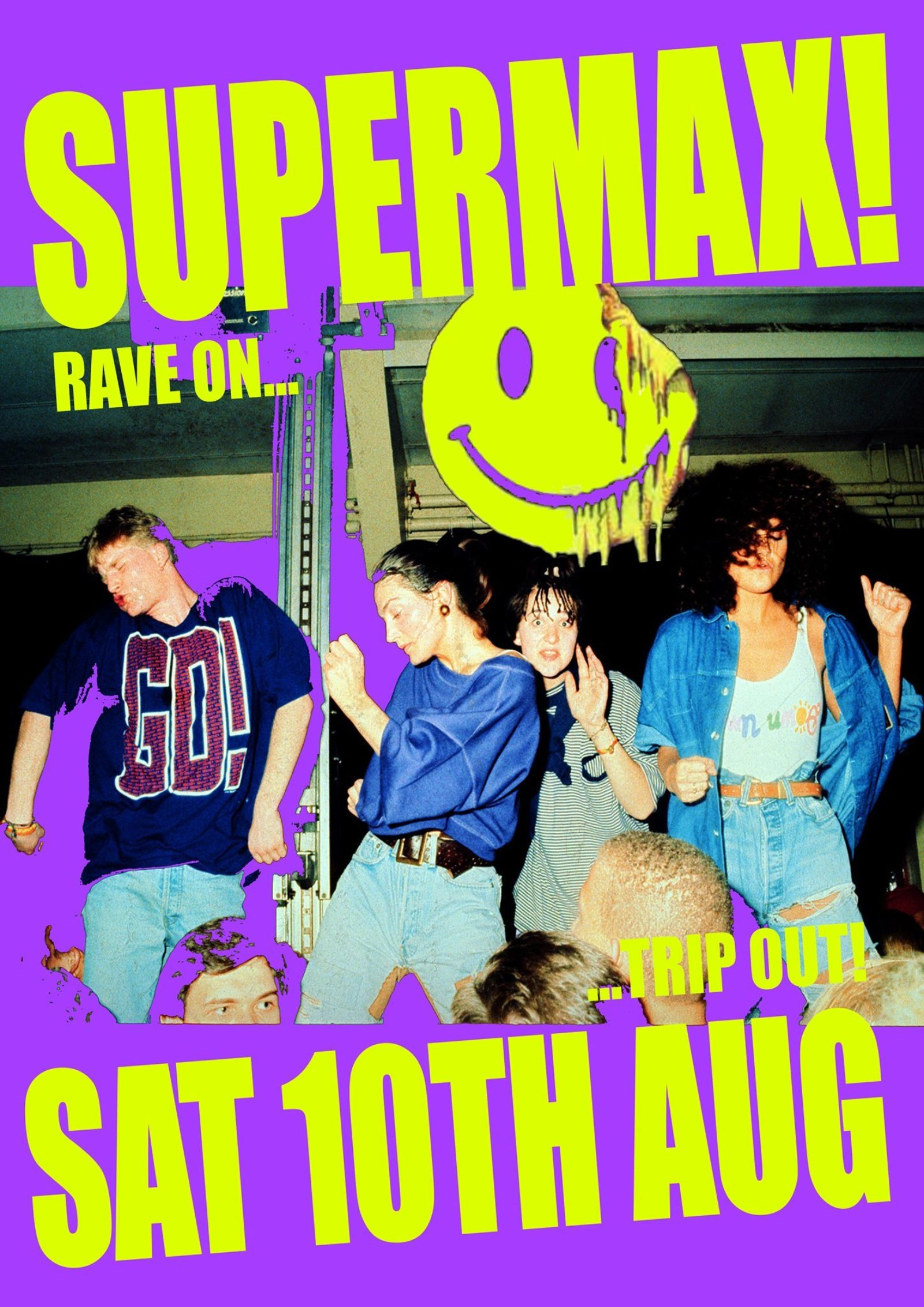 SUPERMAX - RAVE ON TRIP OUT