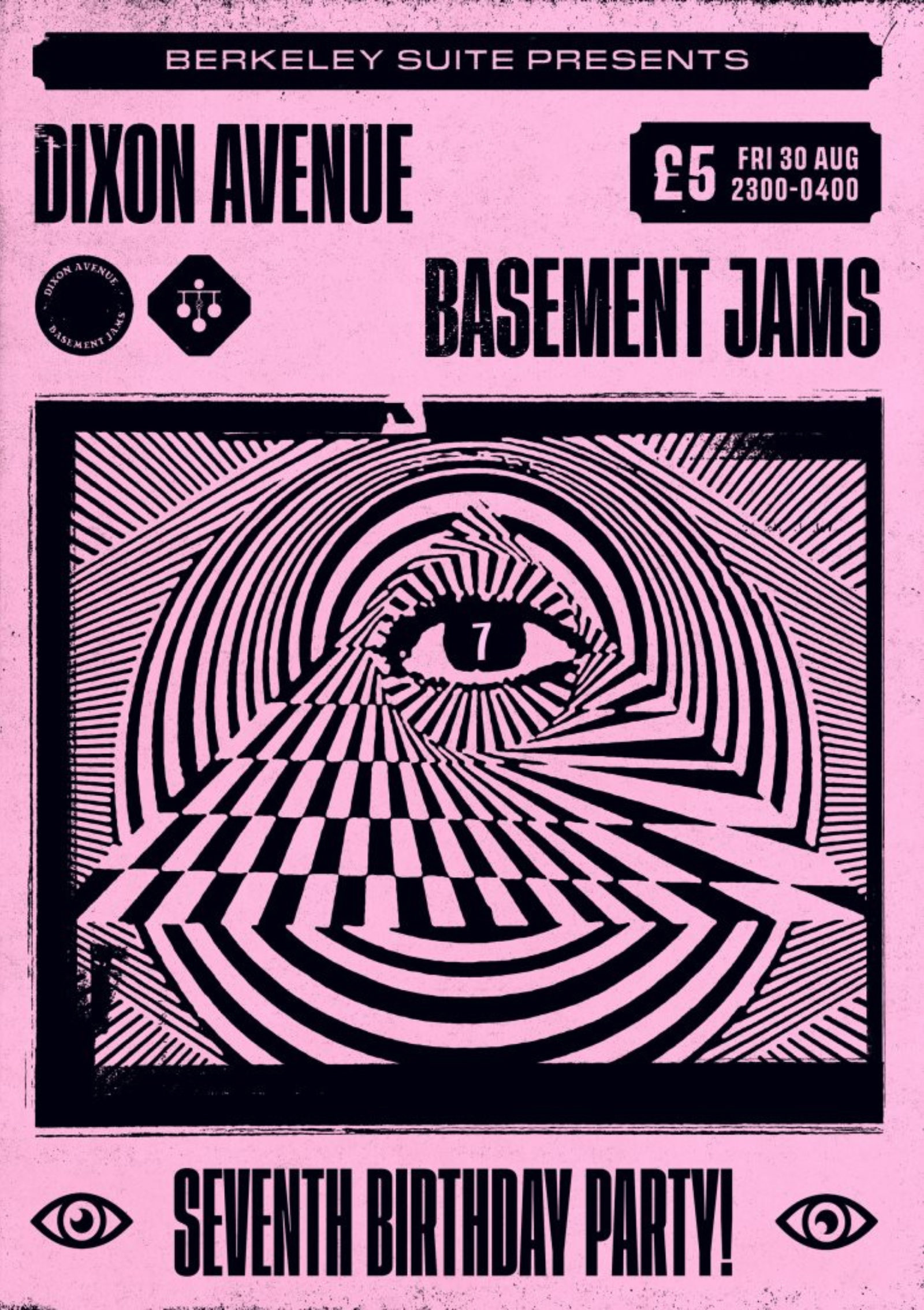 Dixon Avenue Basement Jams - 7th Birthday!