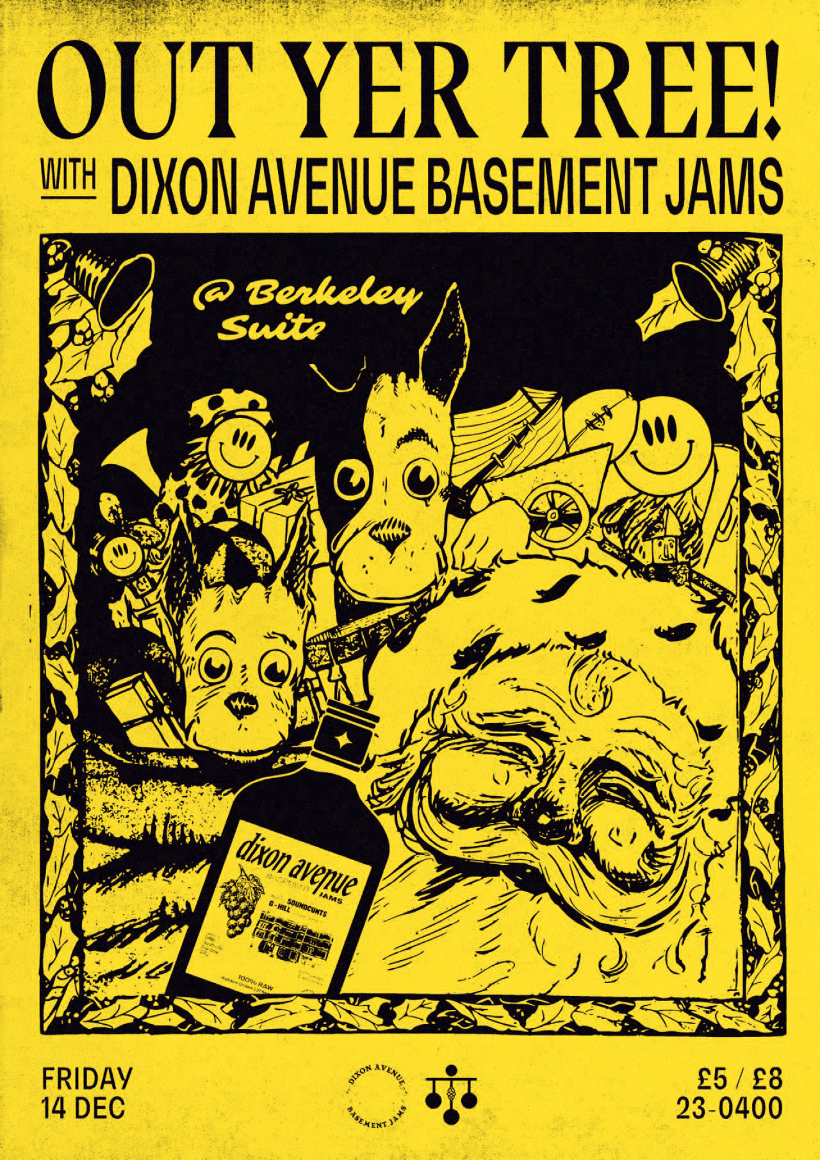 Dixon Avenue Basement Jams - OUT YER TREE!