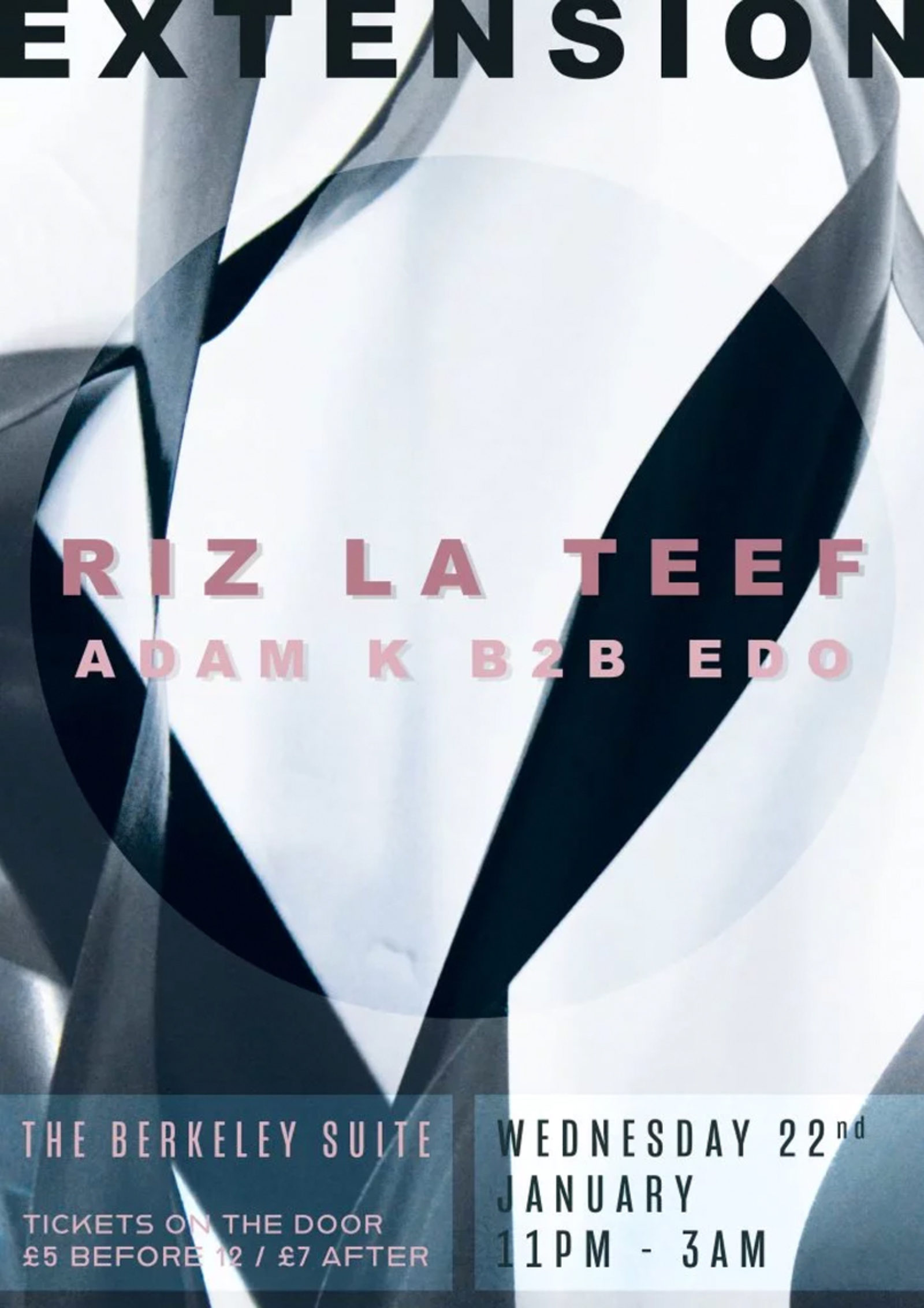 Extension Launch Party with Riz La Teef