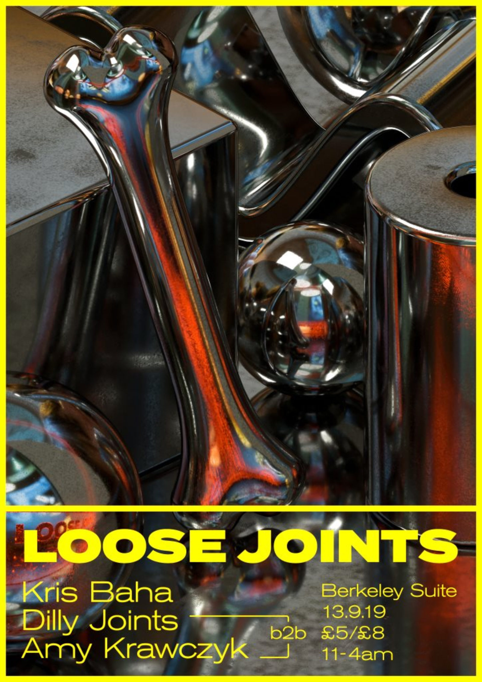 LOOSE JOINTS - KRIS BAHA