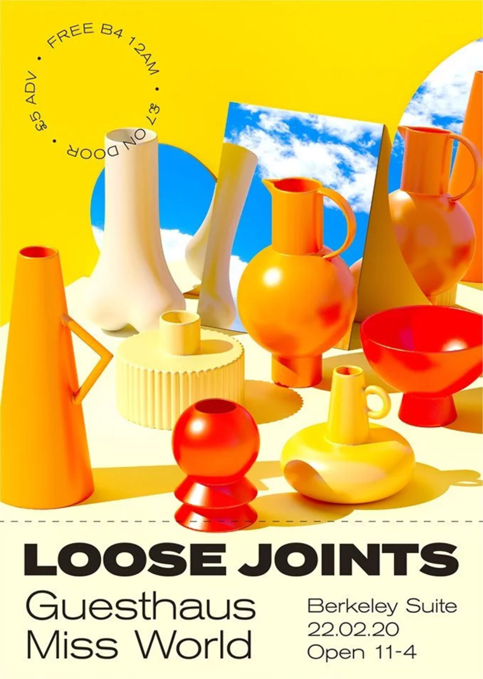 Loose Joints - Miss World, Guesthaus