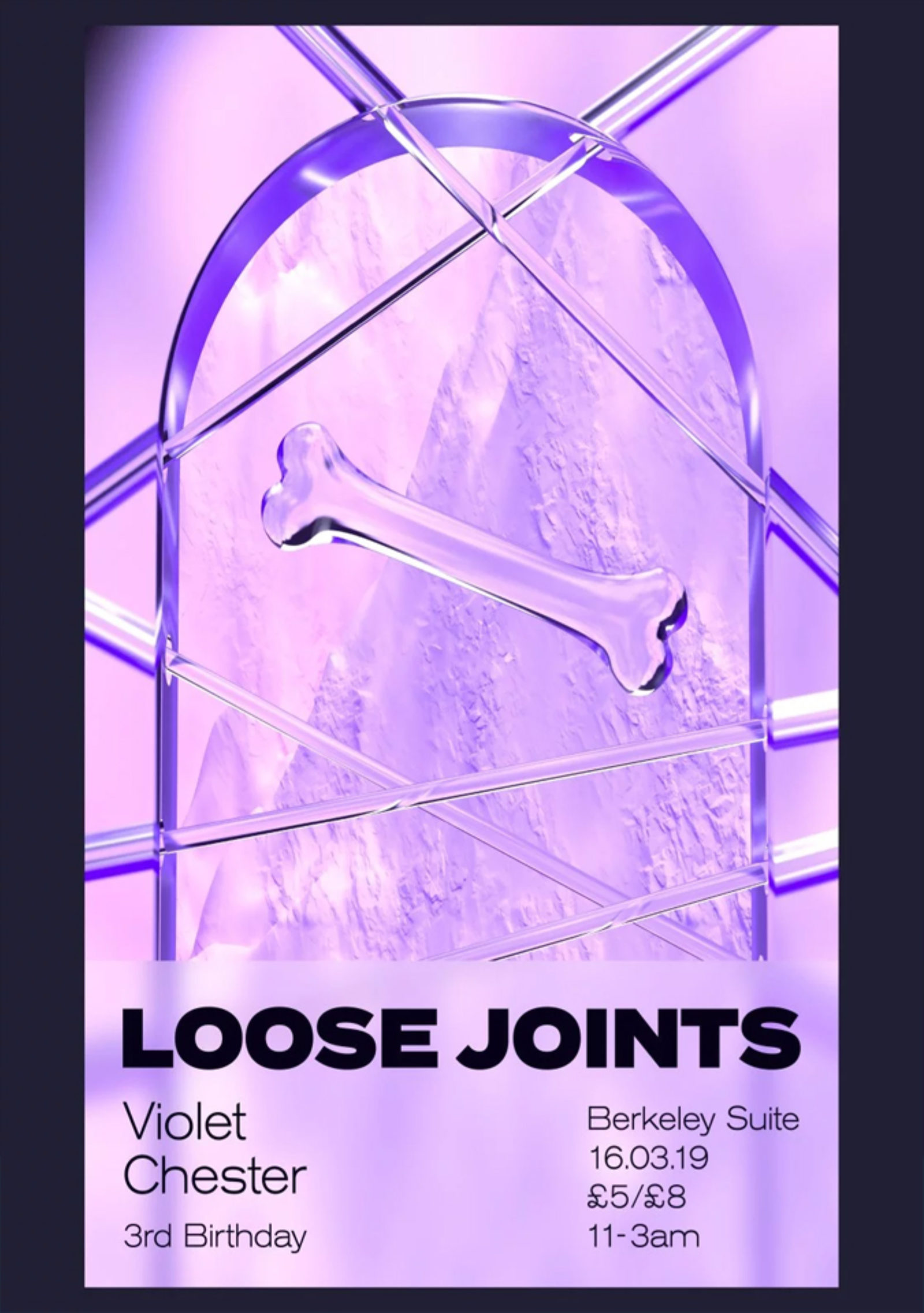 Loose Joints 3rd Birthday with Violet