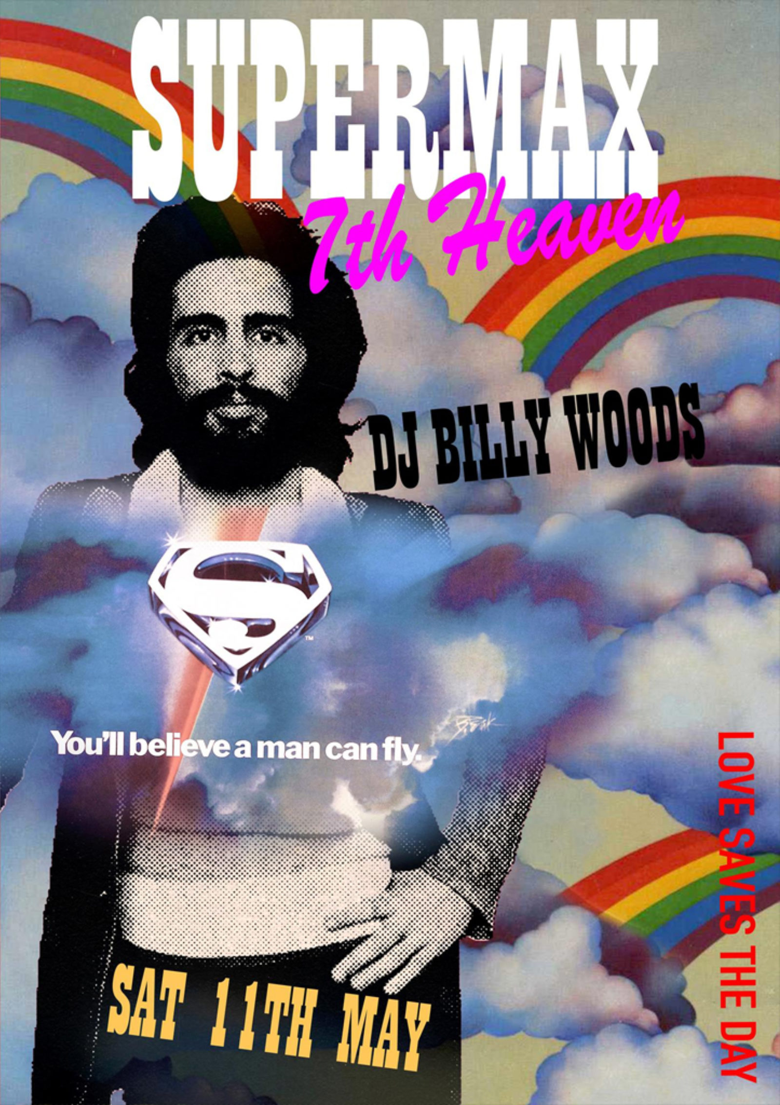 SUPERMAXX with DJ BILLY WOODS