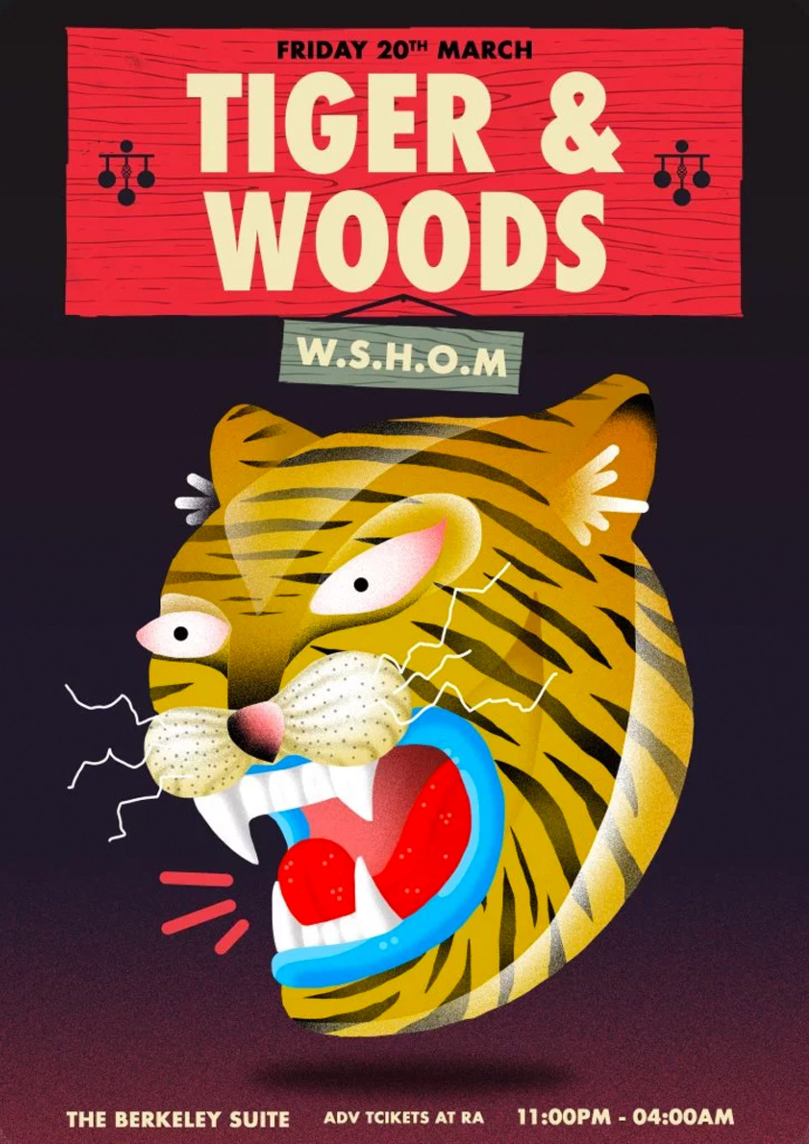 TIGER & WOODS + WSHOM