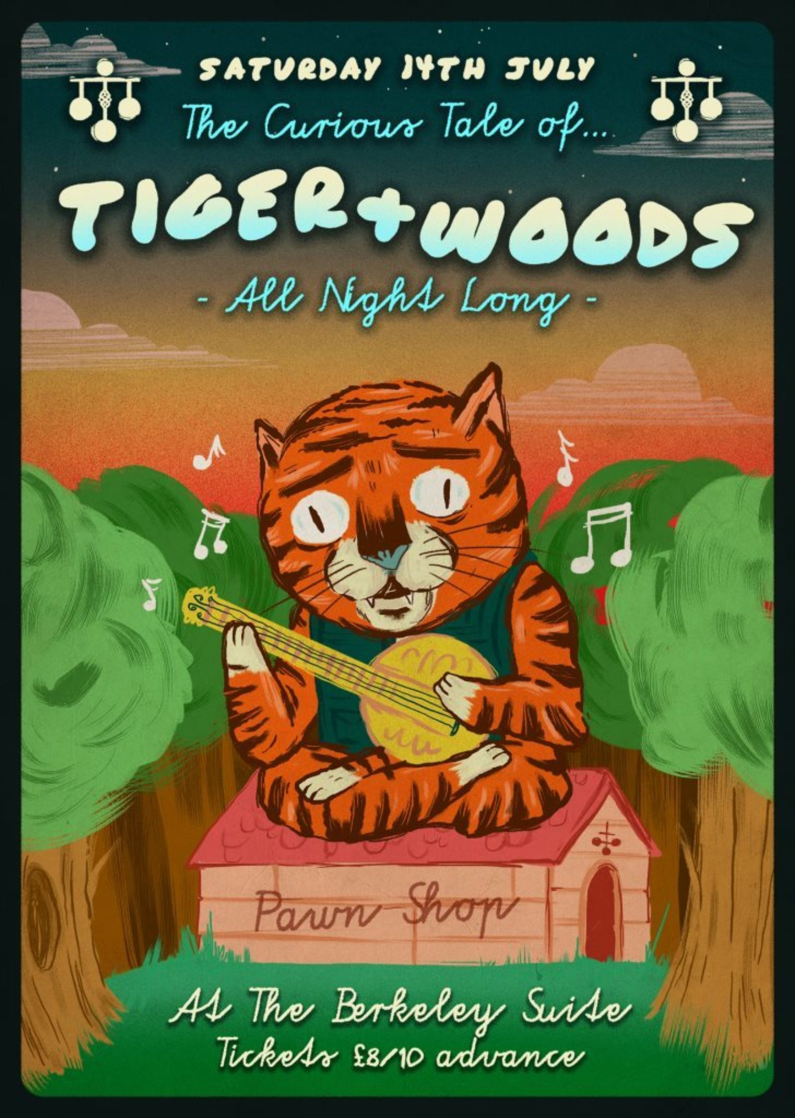 Tiger & Woods (ALL NIGHT LONG)